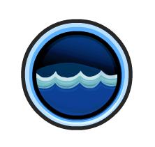boton de agua